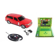 Amazia Gravity Sensing Steering (1:16 Scale) Range Rover Car With Rechargeable Batteries & Charger Included (Red)