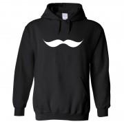 """Hoodie - Giant Moustache"""