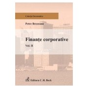 Finante corporative. Volumul II.