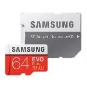 Paměťová karta SAMSUNG MB-MC64GA/EU micro SDHC 64GB CL10 s adaptérem