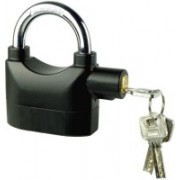 Tuelip arm Anti-Theft Padlock Security System Door Motor Bike Bicycle Safety Lock(Black)
