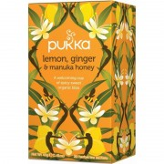 Pukka Lemon, Ginger & Manuka Honey Tea Eko 20 påsar The