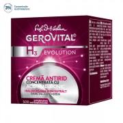 GEROVITAL EVOLUTION Cremă antirid cu Acid Hialuronic, concentraţie 3%