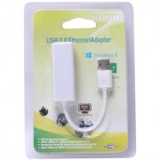 USB 2.0 to Ethernet RJ45 Network with CD Lan Adapter