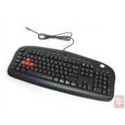 A4 Tech KB-28G, multimedia, Black, US, USB