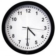 KJB SpyGadgets Motion Activated Battery Powered Wall Clock Spy Camera