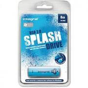 USB Flash 8GB 2.0 Integral Splash Blue, 105521