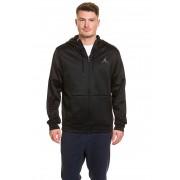 Nike Zip-Hoodie, Langarm, Standard Fit schwarz