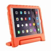 Javu - iPad Mini 4 Hoes - Kids Cover Worker voor Kinderen Oranje