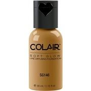 Dinair Airbrush Makeup Foundation | Golden Olive Sg146 | Soft Glow Colair - 1.15 Oz