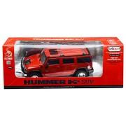 Racer Model 1:16 Hummer SUV Car Rechargeable Remote Control, Red