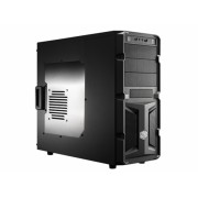 "CARCASA COOLER MASTER K350, window version, mid-tower, ATX, 1* 120mm fan (inclus), I/O panel, black ""RC-K350-KWN2-EN"""