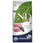 N&D Grain Free Dog Farmina N&D Grain Free Adult Medium Agnello e Mirtillo - 12 kg