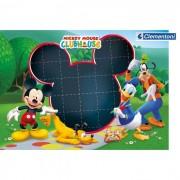 Clementoni puzzle message mickey mouse 104 pezzi