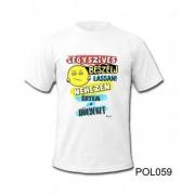 Póló POL059 Légyszíves beszélj lassan L / XL - Tréfás póló