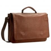 Geantă pentru laptop STRELLSON - Upminister BriefBag MHF 4010001923 Cognac 703