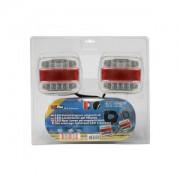 ProPlus Aanhangerverlichtingsset LED met magneten 7,5+2,5M kabel