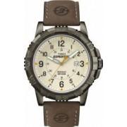 Ceas Barbatesc Timex Expedition T49990 Crem Curea Piele