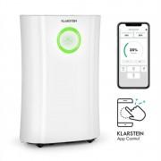 Klarstein DryFy Pro Connect, обезвлажнител за въздух, WiFi, компресия, 20 l / d, 20 m², 370 W, бял (DXJ6-DryFyProConnect)