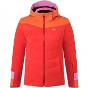 Kjus Girls Jacket MADLAIN fiery red/kjus orange