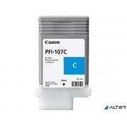 PFI-107C Tintapatron iPF780, 770 nyomtatóhoz, CANON, cián, 130ml