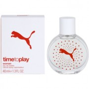 Puma Time To Play eau de toilette para mujer 40 ml
