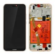 Huawei Repuesto Pantalla LCD/Táctil Rosa para Huawei P20 Lite