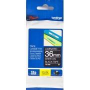Brother TZe tape 36mmx8m white/black