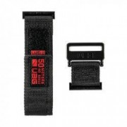 Curea material textil UAG Active Strap Apple Watch 44/42mm Black