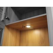 BELEUCHTUNG LED Spot 2-er Set mit Trafo und Zuleitung