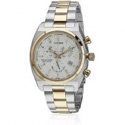 Citizen Eco-Drive Analog White Dial Mens Watch BL8134-58A