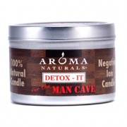 Detox-It Allergy Friendly Candle - For The Man Cave 2.8oz Detox-It Свещ Подходяща при Алерăии - For The Man Cave