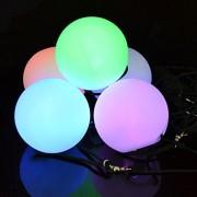ILLUMIBALL: LED POI Balls, Glow Ball, Light Up Ball, Rave, Spinner Balls, Glow Balls, Stress Relief Toys, Parties, Beach, Dances, Camping Fun Indoor Outdoor Activities