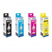 Pack Botella Tinta Epson T664 L310 L380 L395 L495 L575 L1300