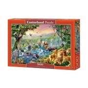 Puzzle Raul din jungla, 500 piese