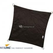Nesling Coolfit schaduwdoek vierkant zwart - 3.6 x 3.6 meter