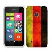 Husa Nokia Lumia 530 Silicon Gel Tpu Model Germany Flag