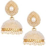 Pourni exclusive Designer Pearl Jhumka Earring -DSER04