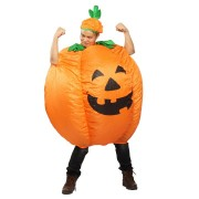 Halloween Pumpkin Inflatable Clothes With Blower Party Cosplay Tools Tops