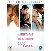 3 Film Collection - The Best Of Me / Dear John / Safe Haven DVD