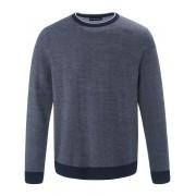 Louis Sayn Rundhals-Pullover Louis Sayn blau