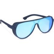 DEIXELS Shield Sunglasses(Blue)