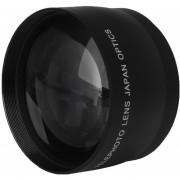 Louiwill Alta Velocidad De La Lente Telefoto Para AF-S DX Nikkor 18-55mm Nikon (Negro)