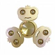 Dayspirit Frog Prince Style Fidget Lanzamiento de Spinner de mano-dorado