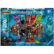 Ravensburger 126293 Így neveld a sárkányodat 3.: Sárkány lovasok