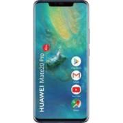 Telefon mobil Huawei Mate 20 Pro 128GB Dual Sim 4G Midnight Blue Resigilat Bonus Husa Huawei pentru Mate