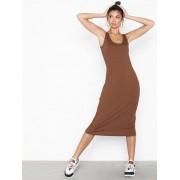NLY Trend Tank Rib Midi Dress Loose fit dresses