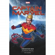 Titan Captain Marvel: Liberation Run: Una novela original de Tess Sharpe (tapa dura)