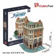 CubicFun Colectia Jigscape Banca Puzzle 3D 94 de piese