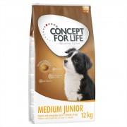 12kg Concept for Life Medium Junior ração